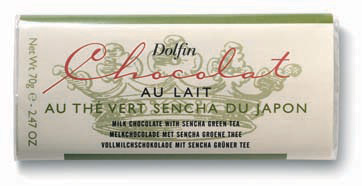Dolfin Sencha Green Tea Milk Chocolate