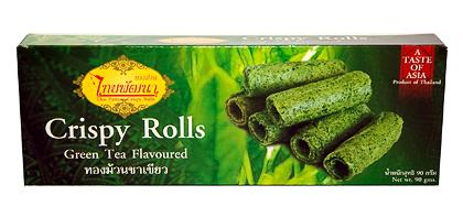 greenteacrispyrolls